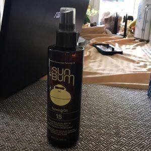 Sun bum tanning oil Spf 15!